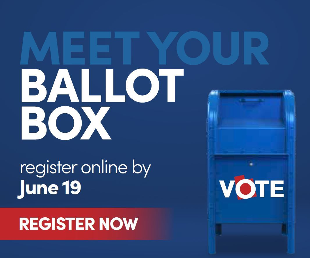 Drop Box Election no in person voting Primary 2020